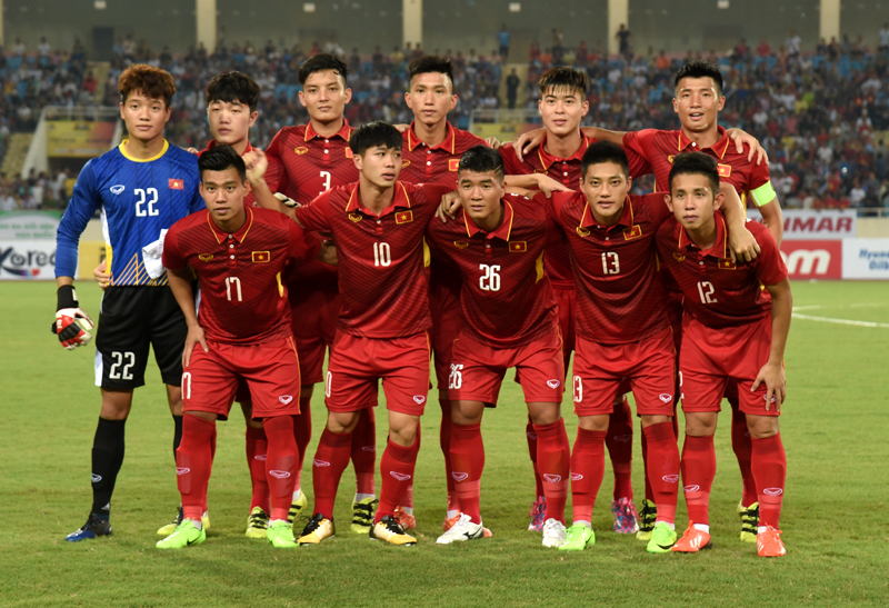 U22 Vietnam's starting line-up