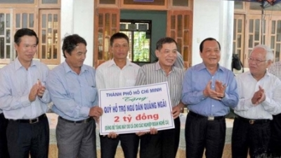 Ho Chi Minh City leaders visit Ly Son island