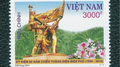 Stamp collection highlights Dien Bien Phu victory
