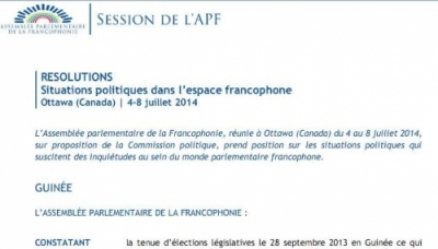 Francophone supports peaceful measures to East Sea tensions