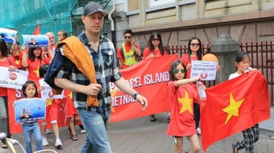 Second protest takes place in Netherlands denouncing China's illegal acts