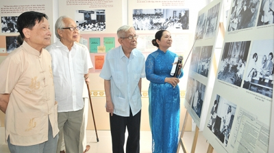 President Ho Chi Minh's press career shown in exhibition