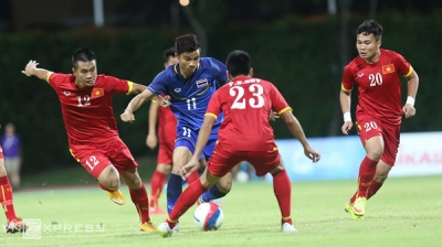 Vietnam suffer first loss at SEA Games 2015