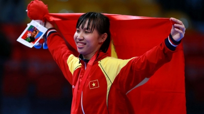 Taekwondo secures Vietnam's 62nd gold at SEA Games