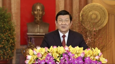 President Truong Tan Sang's Lunar New Year greetings