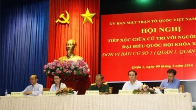 State leader meets with voters in Ho Chi Minh City
