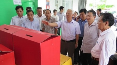 Ca Mau: election preparations in full swing