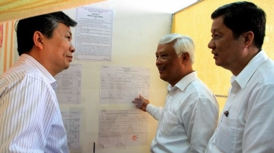 Preparations for NA, People's Council elections in Can Tho, Quang Ninh inspected