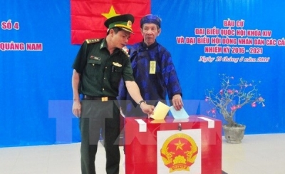 Early NA voting in Quang Nam's remote, border areas