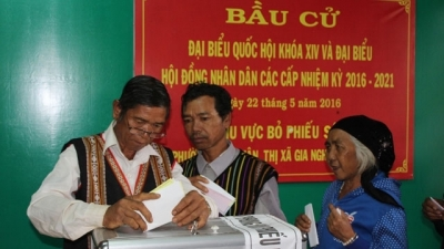 Many polls see 100% of voters: National Election Council