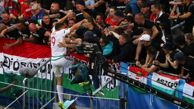 Hungary score shock win over Austria, Iceland hold Portugal to a draw
