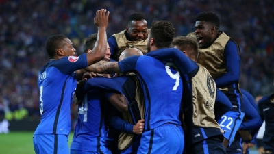 Beating Albania 2-0, France cruise into last 16