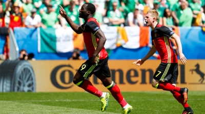 Lukaku's double fires Belgium to 3-0 win over Ireland