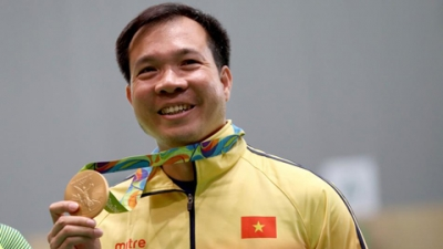 Prime Minister congratulates shooter on Olympic gold medal