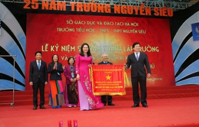 Nguyen Sieu Private School celebrates 25th anniversary
