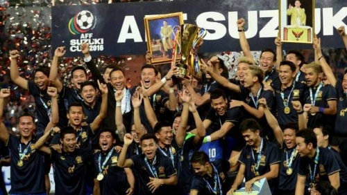 Thailand claim title after beating Indonesia 2-0