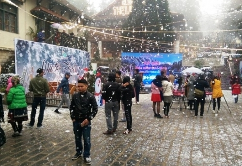 Sapa celebrates first-ever Snow Festival