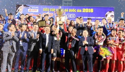 Winning penalty shootout, Quang Ninh Coal crowned Super Cup winners