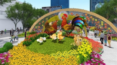 HCM City's flower street to bloom for Tet