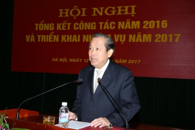 Deputy PM urges academy improve political education quality
