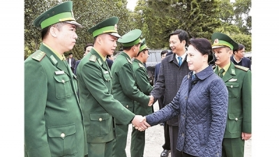 NA leader pays Lunar New Year visit to Quang Ninh