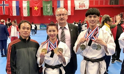 Taekwondo artists earn four gold medals in France