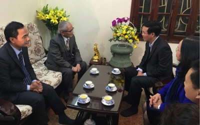 Leaders pay pre-Tet visits to local people nationwide