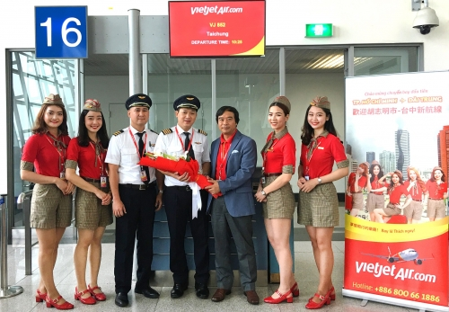 Vietjet Air launches Ho Chi Minh–Taichung route