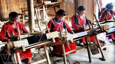 Brocade weaving of the Bahnar ethnic group in Gia Lai