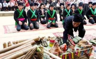Festival of Cong people in Lai Chau