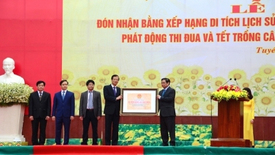 Tuyen Quang: Party relic recognised as national historical site