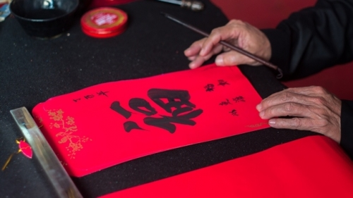 Calligraphy for the New Year – a fine custom of Vietnamese culture
