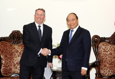 Prime Minister receives UK Secretary of State for International Trade