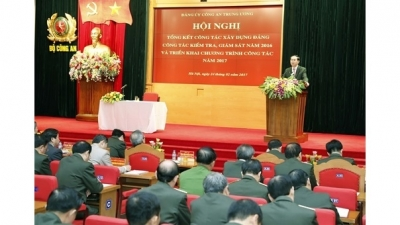 President urges facilitating Party-building work in People's Public Security force