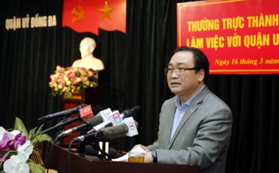Dong Da district urged to accelerate administrative reform