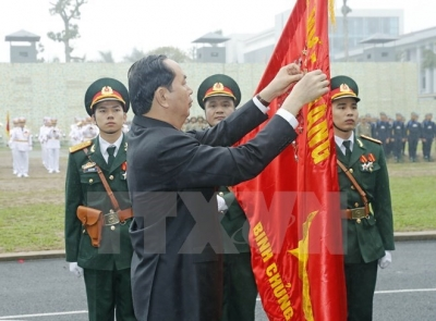 President commends Commando Arm on 50th founding anniversary