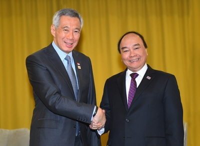 Deepening strategic partnership between Vietnam and Singapore