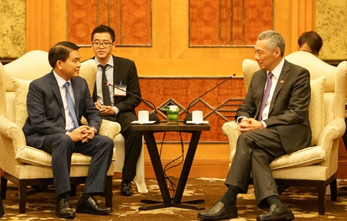 Hanoi seeks to strengthen ties with Singapore in various fields
