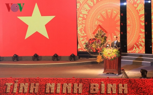 Ninh Binh celebrates 25th anniversary of re-establishment