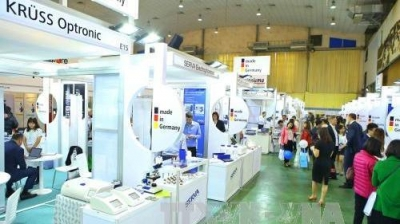 International trade fair for laboratory technology opens