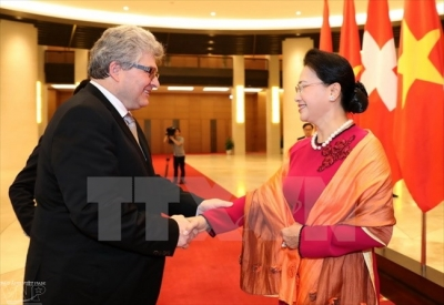 March 27 – April 2: President of Council of States of Switzerland visits Vietnam