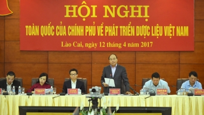 PM Phuc urges development of traditional pharmaceuticals to raise living standards