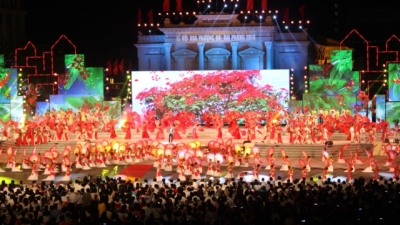 Hai Phong Hoa Phuong Do Festival 2017 to feature various activities