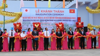 Binh Duong province opens second sewage plant