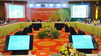 APEC senior officials review financial cooperation priorities