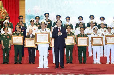 Winners of Ho Chi Minh Awards in military, defence announced