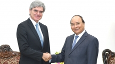 Prime Minister welcomes Siemens CEO