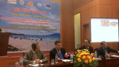 EU and France support the tackling of coastal erosion in Vietnam