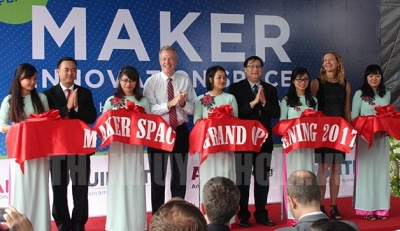 Innovation space for inventors launched in HCM City