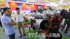 Chinese firms introduce mechanical and electrical products at Hanoi exhibition